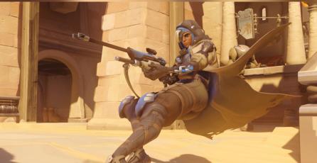 <em>Overwatch</em>: jugador lanza granada al otro extremo del mapa y se lleva una kill con Ana