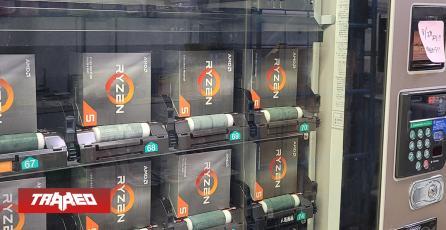 Ya se pueden comprar CPU Ryzen en máquinas expendedoras