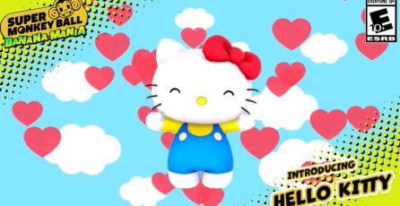"Super Monkey Ball Banana Mania - Tráiler de Personaje ""Hello Kitty"""