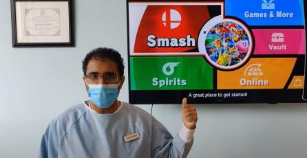 Este dentista te regalará una limpieza si le ganas en <em>Super Smash Bros. Ultimate</em>