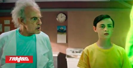 Rick and Morty lanza Live Action con Christopher Lloyd