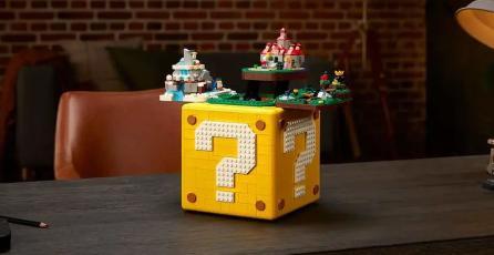 LEGO revela un genial y costoso set con niveles icónicos de <em>Super Mario 64</em>