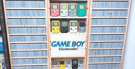 Fan logra conseguir todos los juegos de Game Boy en solo 2 años