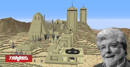 Jugador de Minecraft está recreando Star Wars planeta por planeta