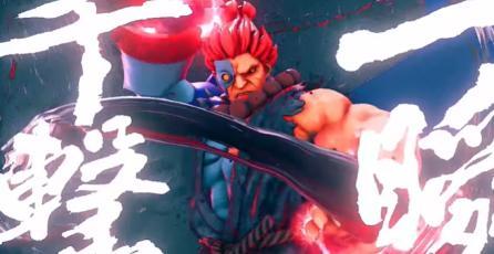 """Street Fighter V - Tráiler de Atuendo """"Cyber Akuma"""""""