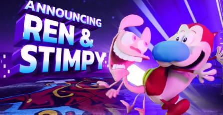 """Nickelodeon All Star Brawl - Tráiler Revelación """"Ren & Stimpy"""""""