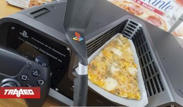 Intento vender DevKit de PS5 en 3000 USD y nadie oferto, le agregó un trozo de Pizza y la vendió en 7000 USD