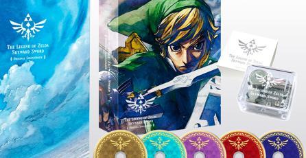 Nintendo confirma la venta del OST de <em>Zelda: Skyward Sword HD</em> en Japón