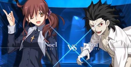 """Melty Blood: Type Lumina - Tráiler de Jugabilidad """"Noel vs Roa"""""""