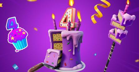 <em>Fortnite</em> celebrará su 4.° aniversario con estos regalos para sus fans