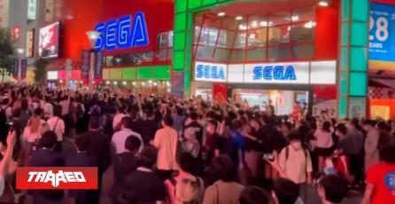 Cientos de fanáticos despiden en Japón local de arcades SEGA después de 28 años