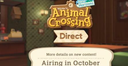 "Animal Crossing: New Horizons - Tráiler ""Direct de Octubre"""