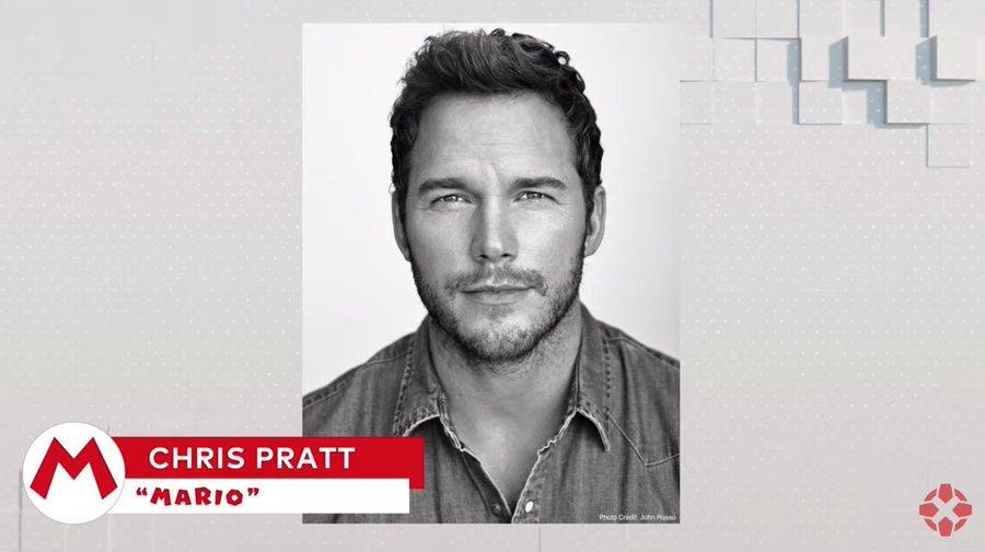 Chris Pratt como Mario