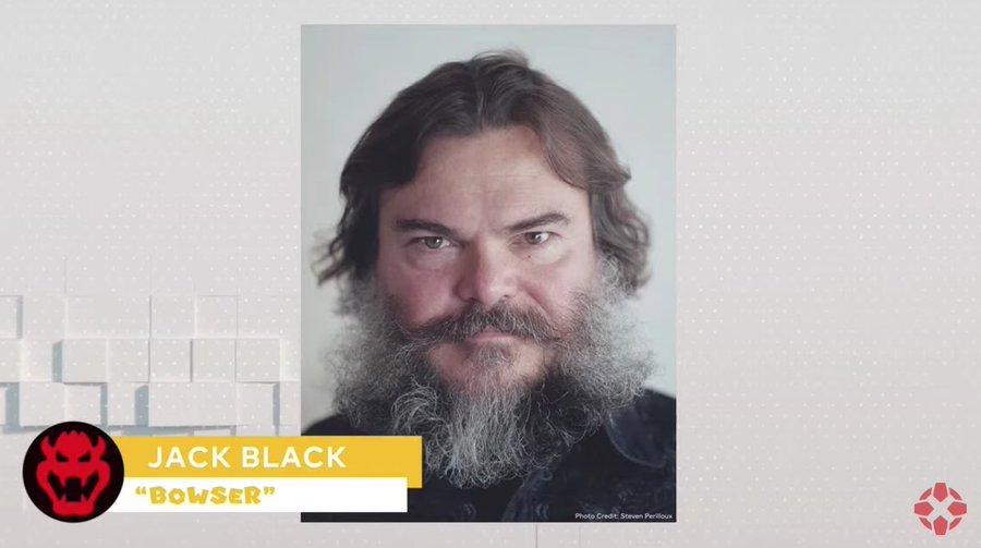 Jack Black como Bowser