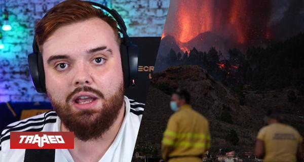 Ibai junto a AuronPlay, El Rubius y Grefg recaudan más de 100 mil euros para afectados por erupción del volcán de La Palma