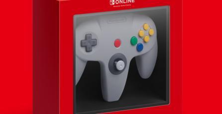 Controles de Nintendo 64 y SEGA Genesis para Switch tendrán botones adicionales