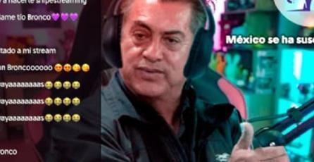 El Bronco, gobernador de Nuevo León, abre canal en Twitch; promete retas de <em>CoD</em> y<em> Pokémon</em>