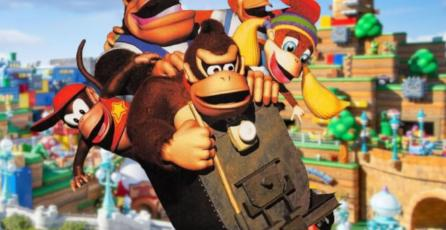 Super Nintendo World Japón abrirá su zona de <em>Donkey Kong</em> en 2024