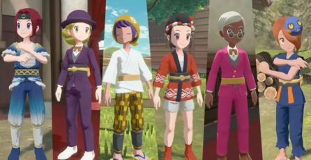 "Pokemon Legends: Arceus - Tráiler ""Noble Pokémon"""