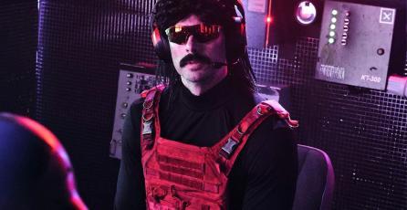 Dr Disrespect criticó a las personas que juegan <em>CoD: Warzone</em> con mando