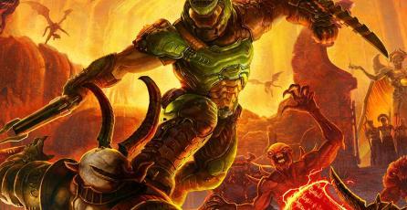 DOOM Slayer se une a <em>Super Smash Bros. Ultimate</em>, pero no como peleador