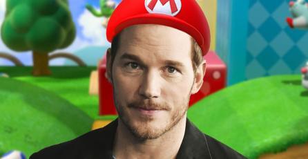 Chris Pratt trollea a fans con supuesto avance de la película de <em>Super Mario</em>