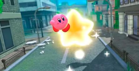 Muestran la portada del box art de <em>Kirby And The Forgotten Land</em>