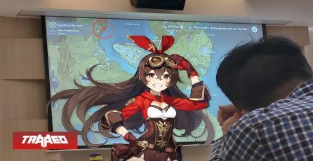 Profesor usa mapa de Genshin Impact para enseñar filosofía
