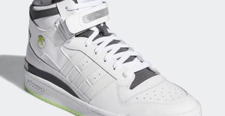 Adidas rinde homenaje al Xbox 360 con unos tenis de edición limitada