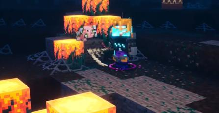 "Minecraft Dungeons - Tráiler de Evento ""Spookier Fall"""