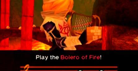 ¡Impresionante! Fan toca <em>Bolero of Fire</em> de <em>Zelda: Ocarina of Time</em> en un volcán activo
