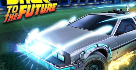 <em>Rocket League</em>: el DeLorean de <em>Volver al Futuro</em> vuelve en una nueva oportunidad para comprarlo