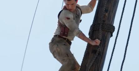 <em>Uncharted</em>: video detrás de cámaras presenta más escenas de la película