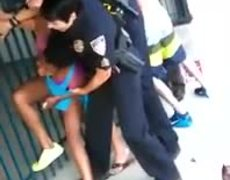 Video: Ohio Police Use Excessive Force at Fight at Public Pool