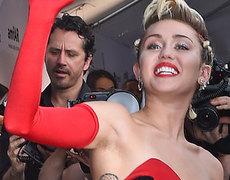 Miley Cyrus Flaunts Armpit Hair