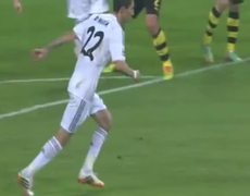 Borussia Dortmund vs Real Madrid Roman Weidenfeller Save ANgel Di Maria