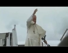 The bloopers during Pope Francis visits Ecuador
