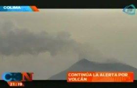 Alerta por el volcan en Colima y Jalisco