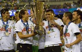 Mexico vs Jamaica (3-1) - Copa Oro 2015 - RESUMEN COMPLETO y CELEBRACION