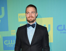 Stephen Amell Jumps in WWE Ring
