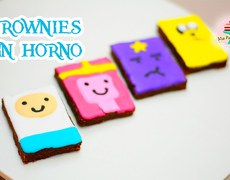 Brownies no oven (Adventure Time)
