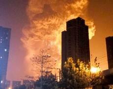 Gran explosión estremece ciudad de China