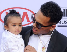 See Chris Brown's Daughter Rock It Out in Adorable Video