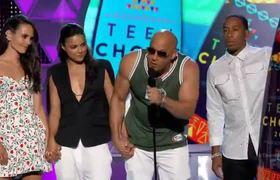 Teen Choice Awards 2015 -- Vin Diesel, Paul Walker, Fast & Furious 7 Win
