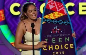 Teen Choice Awards 2015 -- Cameron Dallas & Bethany Mota Win