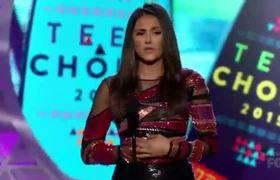 Teen Choice Awards 2015 -- Nina Dobrev & Ian Somerhalder Win