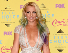 Britney Spears Mini-Me's Steal Spotlight