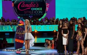 Teen Choice Awards 2015 -- Britney Spears Wins Candie's Choice Style Icon