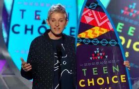 Teen Choice Awards 2015 -- Ellen DeGeneres Wins