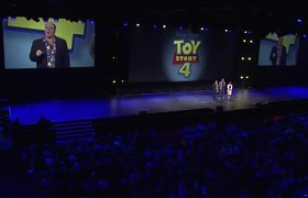 D23 Expo - Animation Presentation Reel: Toy Story 4, Finding Dory